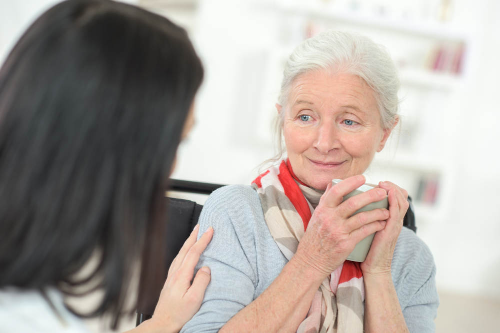 What to Say or Not Say to Someone Dying & Being Cared for by Hospice Caregivers in Irvine
